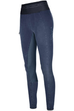 Pikeur Womens Ivana Athleisure Jeans Breeches - Denim Blue