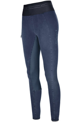 Pikeur Womens Ivana Athleisure Jeans Breeches - Denim Blue