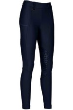 Pikeur Womens Kima Grip Athleisure Full Patch Breeches - Night Blue
