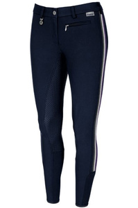 Pikeur Womens Lucinda Grip W8 Stripes Breeches Nightblue