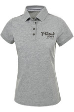Pikeur Womens Ruby Polo Grey Melange