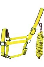 Woof Wear Head Collar & Lead Rope WS0020 - Yellow