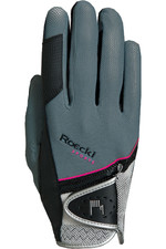 Roeckl Madrid Riding Gloves Grey / Pink