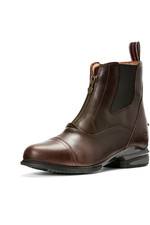 Ariat Womens Devon Nitro Zip Paddock Boots Wax Chocolate