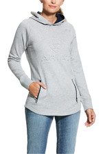Ariat Womens 3D Logo Hoody - Grey Heather