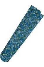 Ariat Adult Ultrathin Tall Boot Sock Blue Bits 10036528