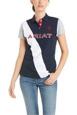Ariat Womens Taryn Short Sleeve Polo Team 10034951