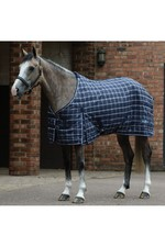 Saxon 1200D PP Stable Standard Neck Medium - Navy Plaid