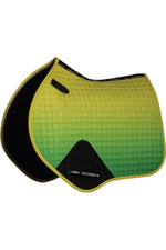 Weatherbeeta Prime Ombre Jump Shaped Saddle Pad - Sunflower Field