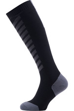 SealSkinz Hiking Mid Knee Socks Black / Anthracite