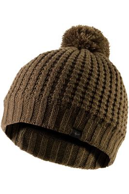 SealSkinz Waterproof Waffle Knit Bobble Hat Olive