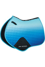 Weatherbeeta Prime Ombre Jump Shaped Saddle Pad - Ocean Breeze
