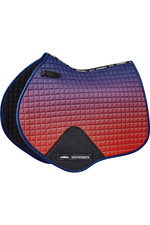 Weatherbeeta Prime Ombre Jump Shaped Saddle Pad - Stormy Sky