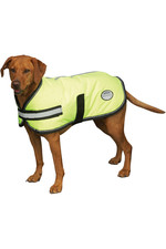 Weatherbeeta Reflective Parka 300D Dog Coat - Yellow