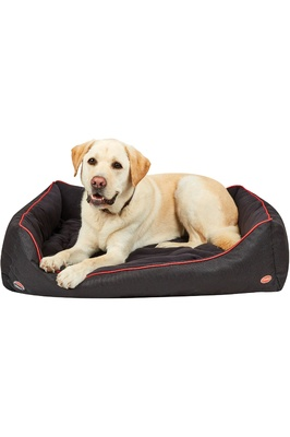 Weatherbeeta Therapy-Tec Dog Bed - Black / Red