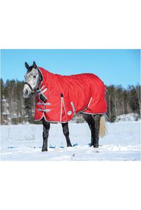 Weatherbeeta Comfitec Classic Combo Neck Heavy Red / Silver / Navy