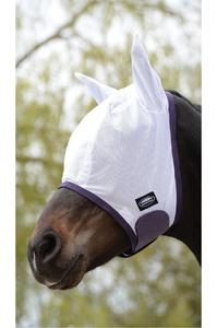 Weatherbeeta Comfitec Essential Mesh Fly Mask White / Purple