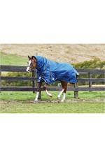 Weatherbeeta Comfitect Ultra Tough Detach-A-Neck Heavy Blue /  Charcoal