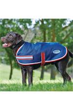 Weatherbeeta Parka 1200D Dog Coat Navy / Red / White