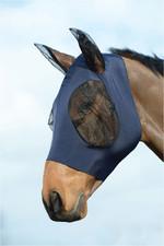 Weatherbeeta Stretch Bug Eye Saver With Eyes Navy / Black