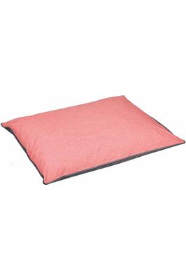 Weatherbeeta Waterproof Pillow Dog Bed - Grey / Pink