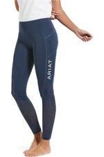 Ariat Womens EOS Fullseat Tights - Marine Blue