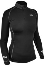 Woof Wear Womens Performance Riding Shirt WA0001 - Black