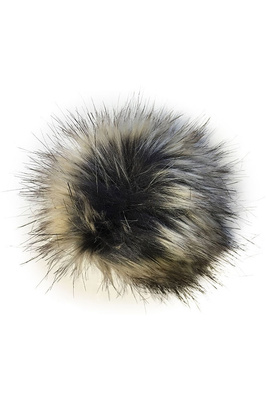 Woof Wear Attachable Pom-Pom - Black / Silver