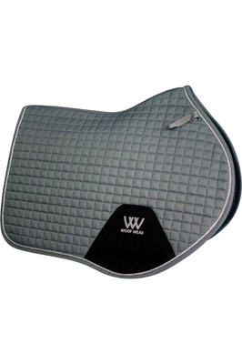 Woof Wear Close Contact Saddle Cloth - Brushed Steel