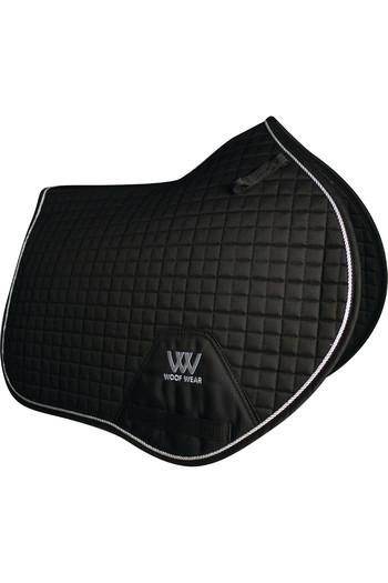 Woof Wear Close Contact Saddle Cloth Black