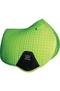 Woof Wear Close Contact Saddle Cloth Lime