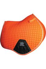 Woof Wear Close Contact Saddle Cloth Orange