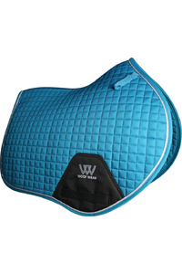 Woof Wear Close Contact Saddle Cloth Turquoise