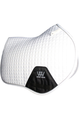 Woof Wear Close Contact Saddle Cloth White