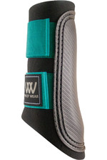 Woof Wear Club Brushing Boot - Black / Ocean
