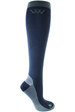 Woof Wear Competition Riding Socks WW0018 - Charcoal