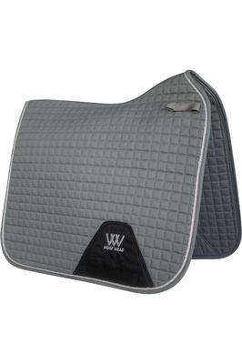 Woof Wear Dressage Saddle Cloth - Brushed Steel