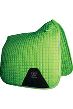 Woof Wear Dressage Saddle Cloth Lime