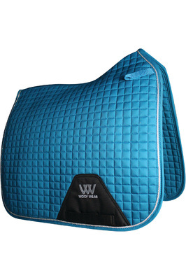 Woof Wear Dressage Saddle Cloth Turquoise