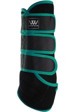 Woof Wear Dressage Wraps - Black / Ocean