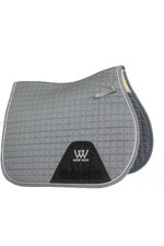 Woof Wear General Purpose Saddle Cloth - Brushed Steel