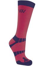 Woof Wear Short Bamboo Waffle Socks WW0016 Shiraz