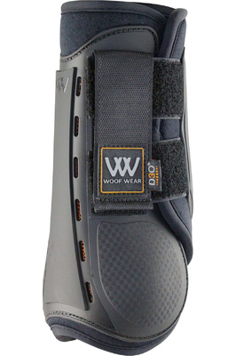 Woof Wear Smart Event Boots Front Black