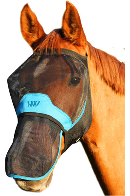 Woof Wear UV Nose Protector - Black / Turquoise