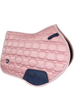 Woof Wear Vision Close Contact Saddle Pad - Rose Gold