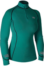 Woof Wear Womens Performance Riding Shirt - Ocean