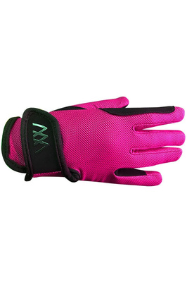 Woof Wear Young Rider Pro Gloves - Berry