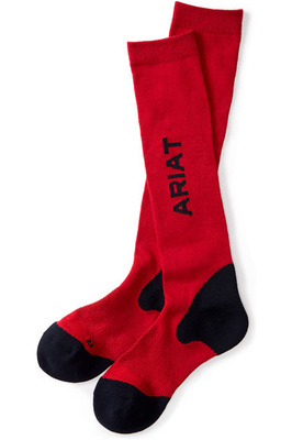 Ariat AriatTek Performance Socks AE Red / Navy