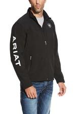 Ariat Mens New Team Softshell Jacket 10037399 - Black