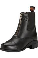 Ariat Youth Devon 3 Zip Short Riding Boots Black